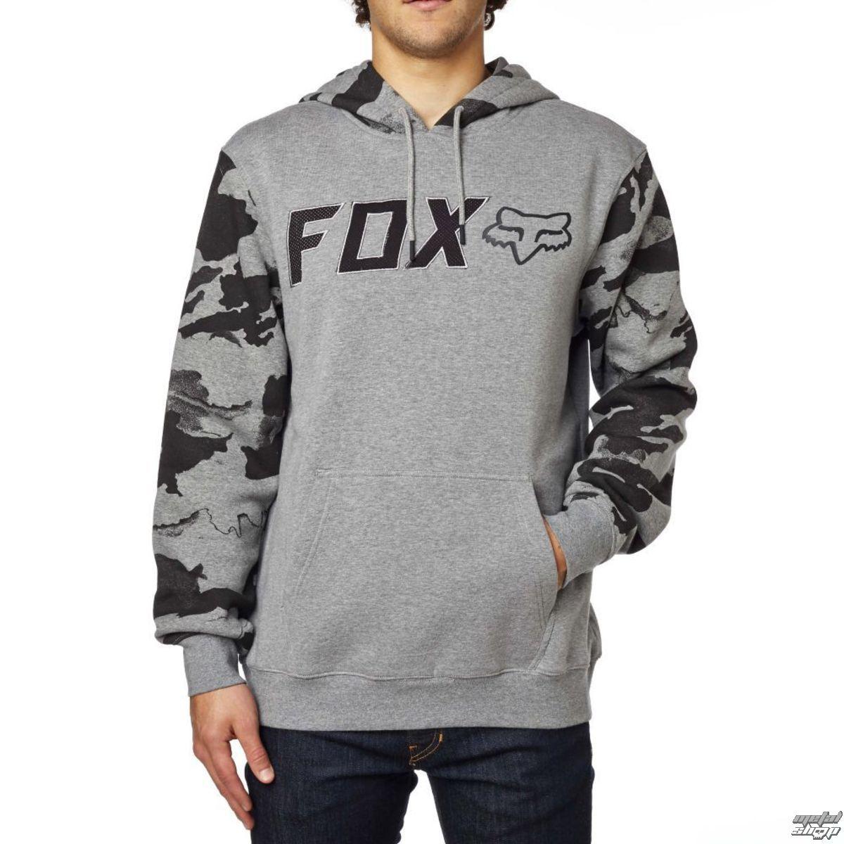 mikina pánská FOX - Diskors Fleece - Heather Graphite - 17473-185