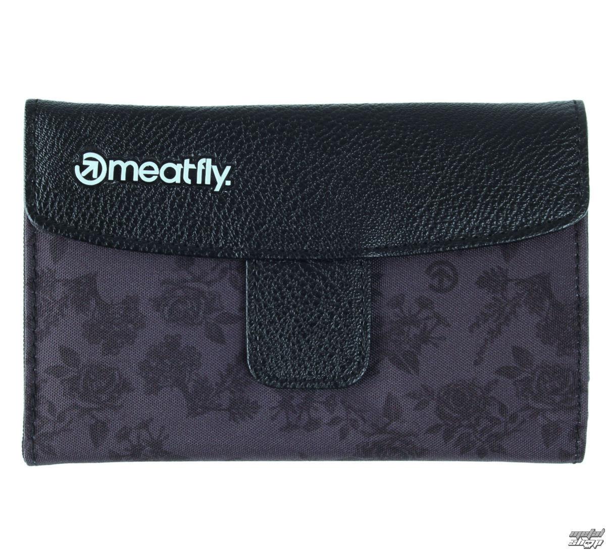 peněženka MEATFLY - Madeline - D - Black,Decade Print - MEAT031