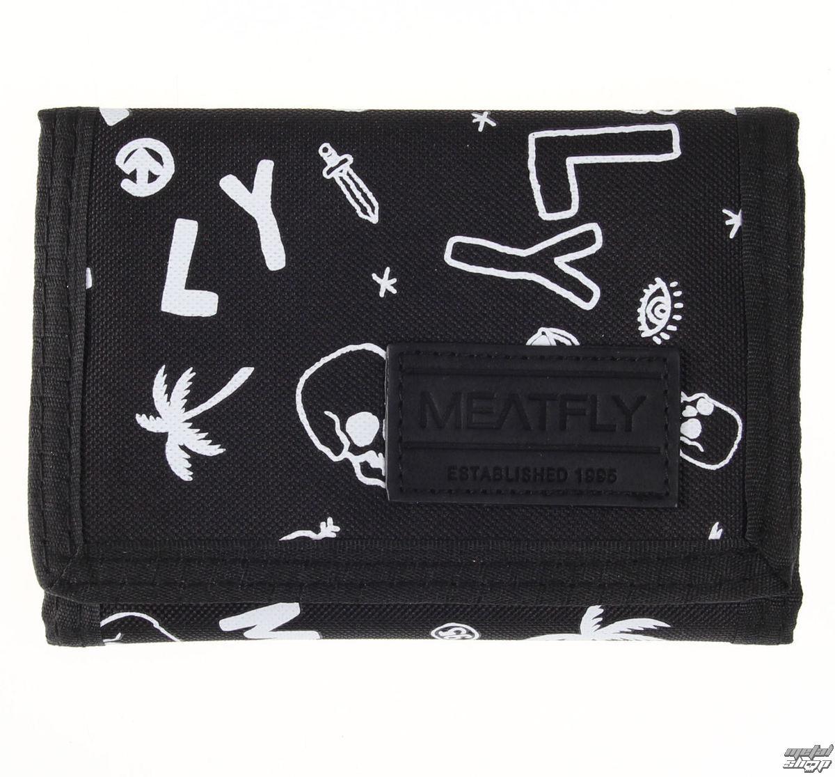 peněženka MEATFLY - Elite - C - Doodle - MEAT037
