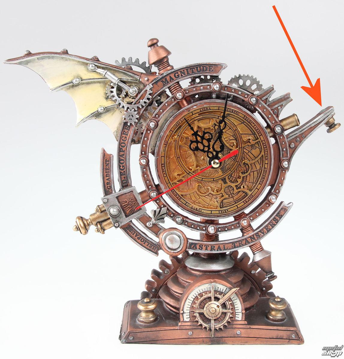 dekorace Alchemy Gothic - The Stormgrave Chronometer - POŠKOZENÁ - N595