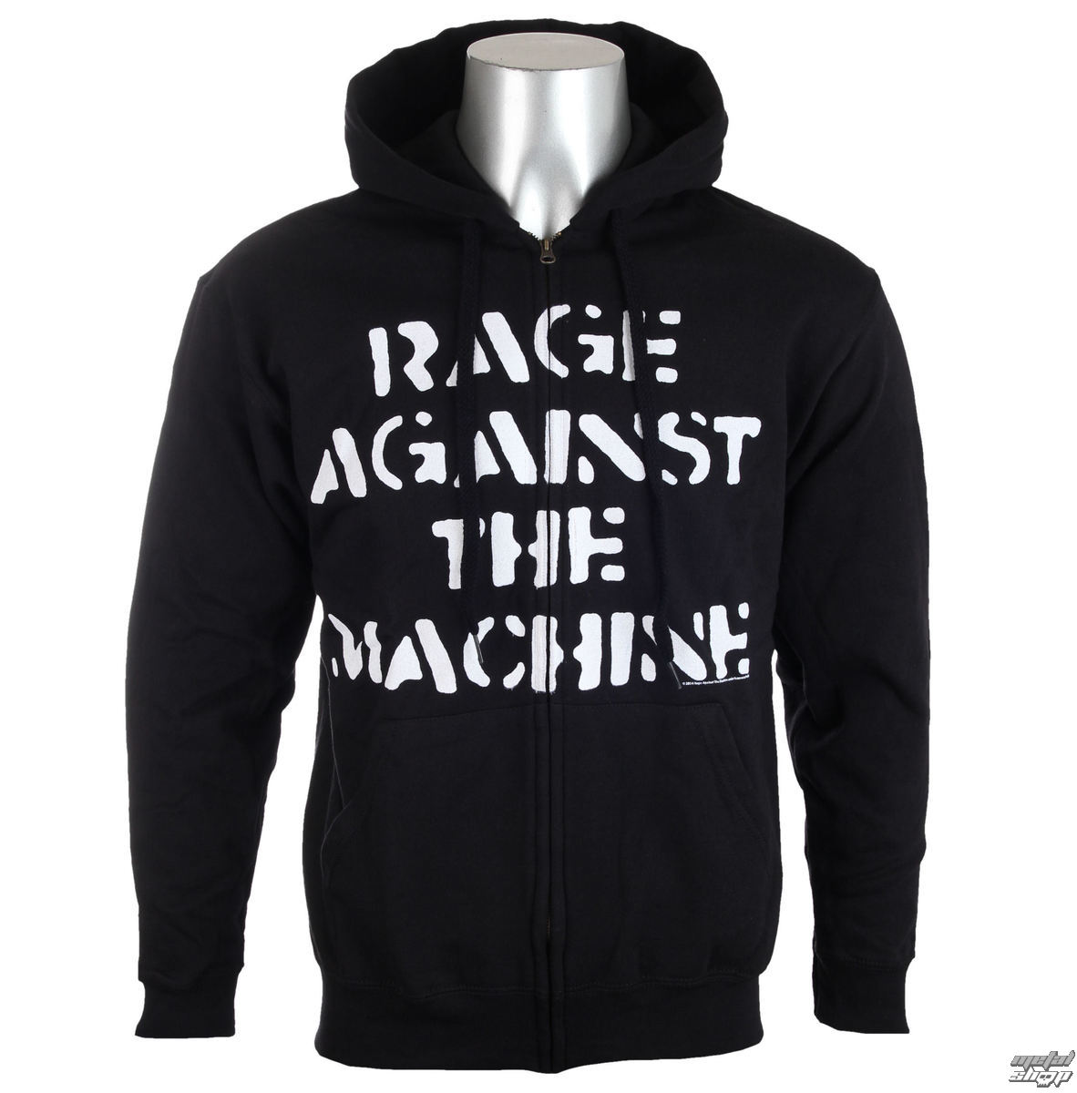 mikina pánská Rage Against The Machine - Large Fist Black