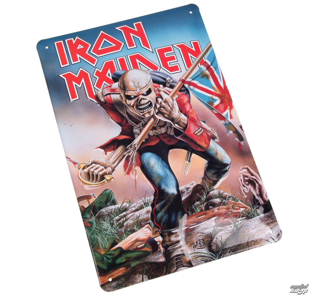 cedule Iron Maiden - The Trooper