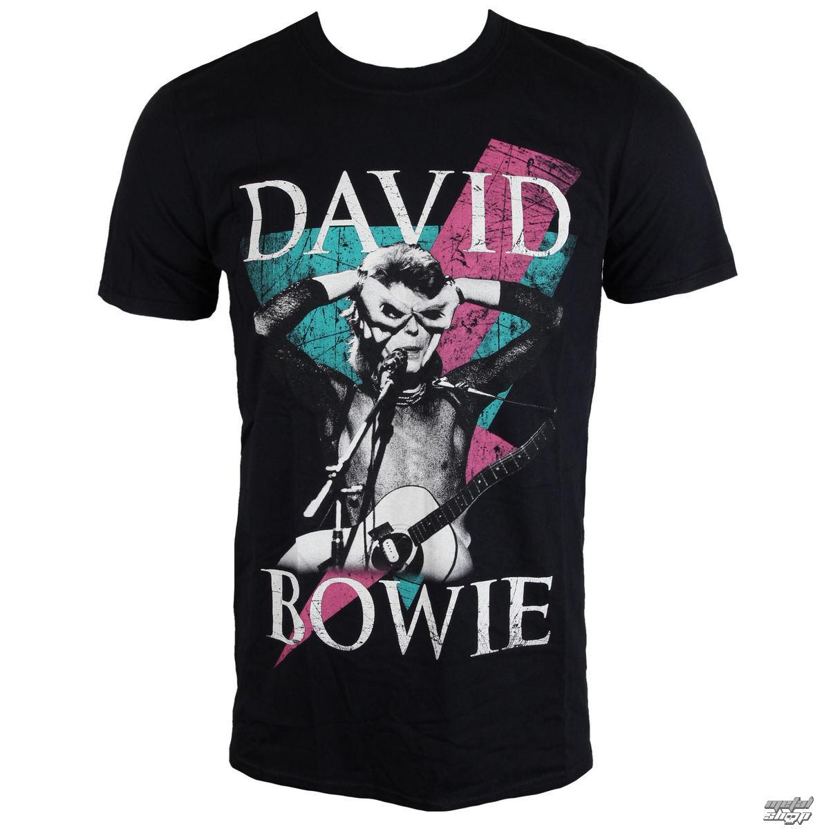 tričko pánské David Bowie - Thunder - ROCK OFF - BOWTS08MB