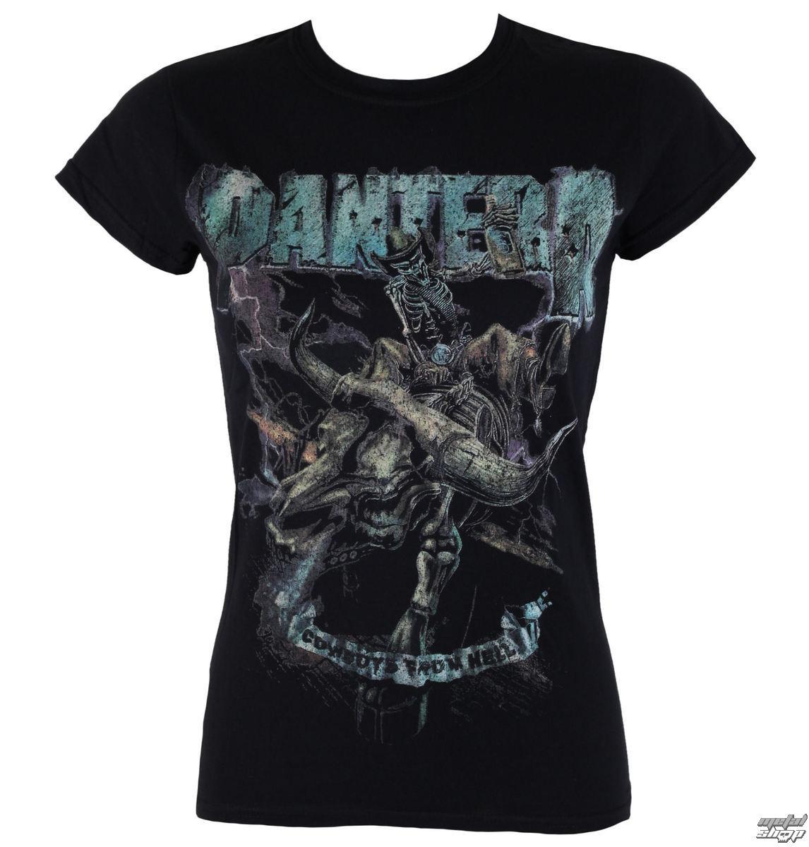 tričko dámské Pantera - Vintage Rider - ROCK OFF - PANTS11LB