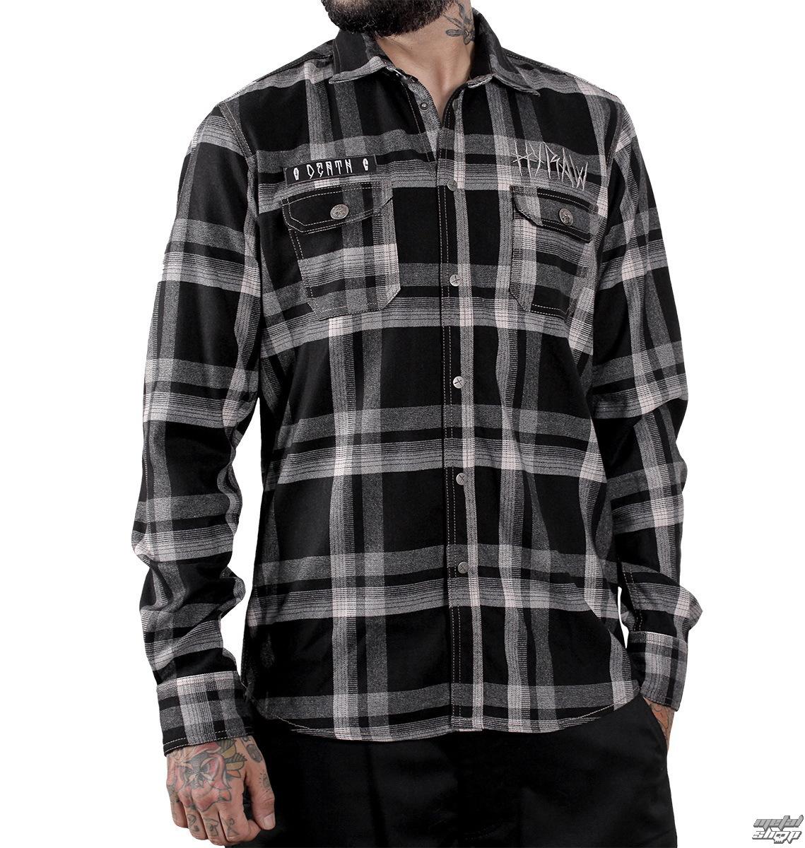 košile pánská HYRAW - Death - HY179