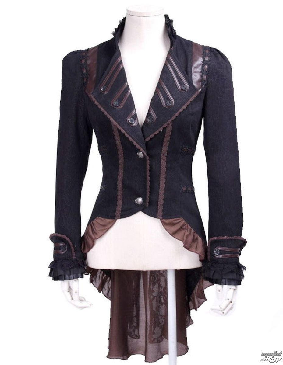 kabátek (sako) dámský PUNK RAVE - SP020_B/CO
