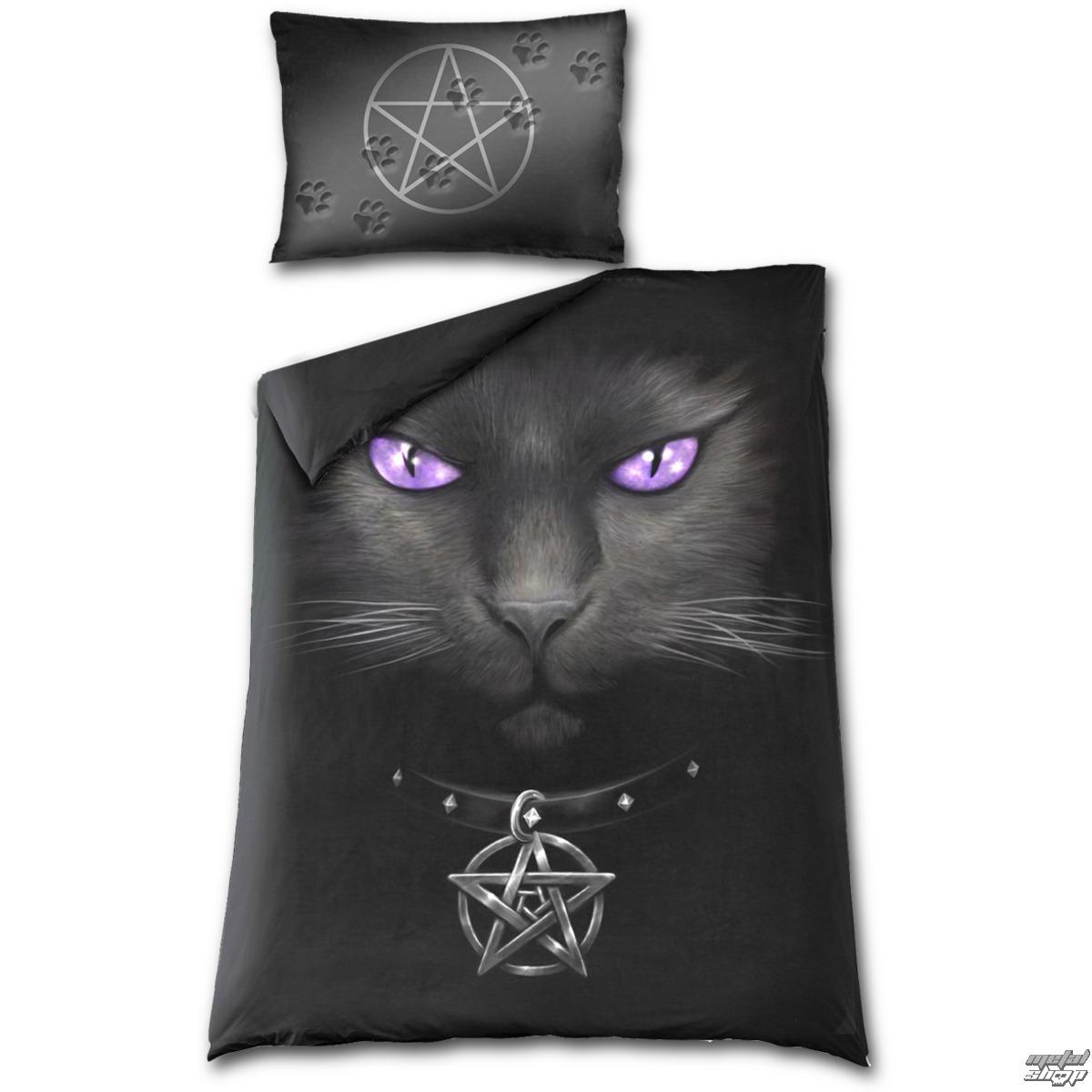 povlečení SPIRAL - BLACK CAT - D008A508