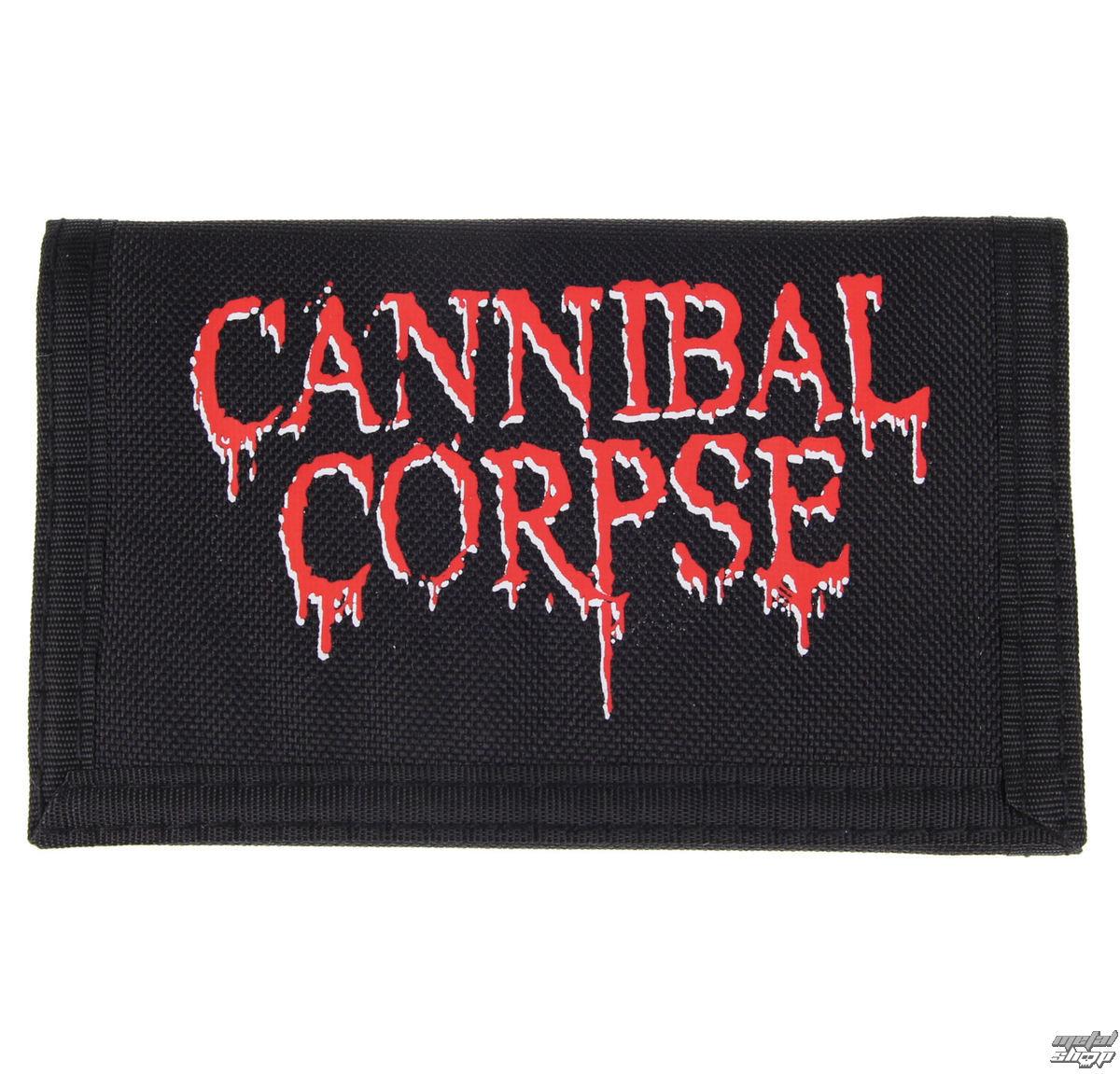peněženka Cannibal Corpse - Logo - PLASTIC HEAD - PHWALL018