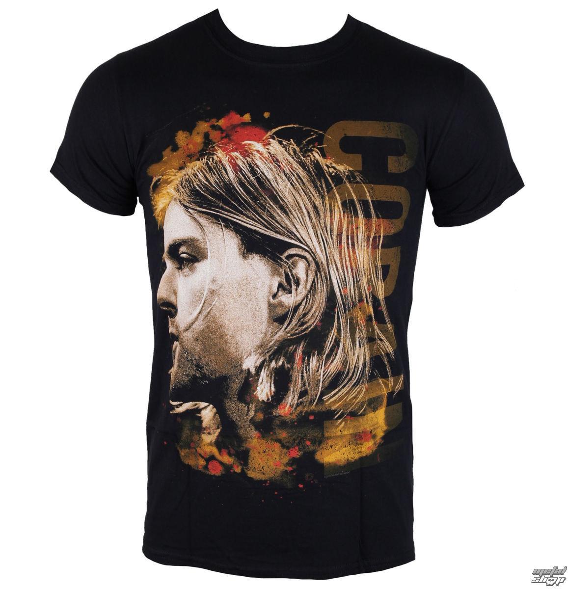 tričko pánské Nirvana - Kurt Cobain - Coloured Side View - PLASTIC HEAD - RTKCO0108