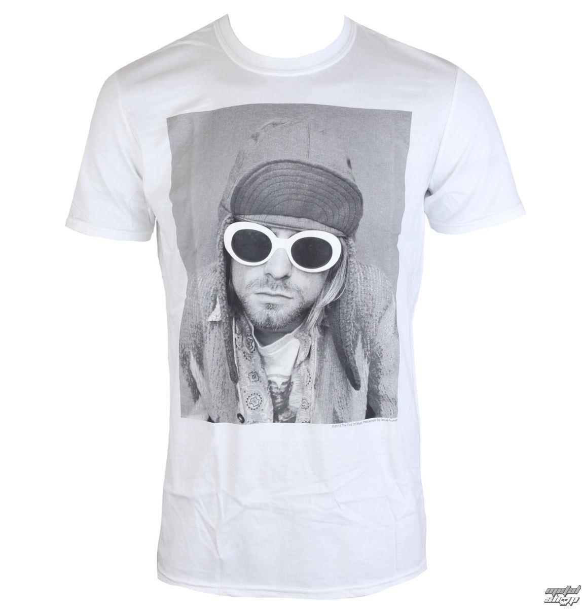 tričko pánské Nirvana - Kurt Cobain - Sunglasses Photo - PLASTIC HEAD - RTKCO0112