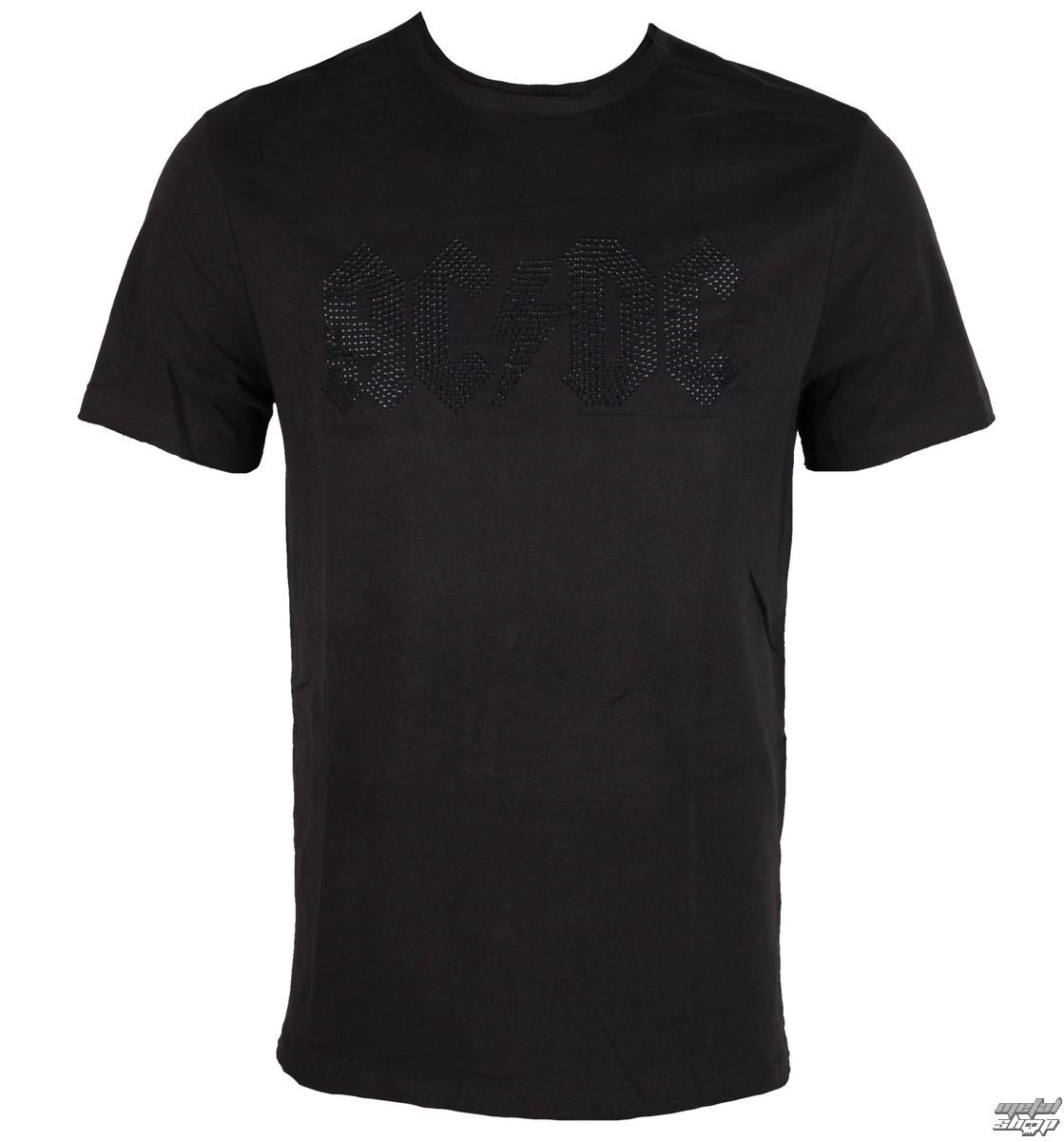 3f2c0ec2840d tričko pánské AC DC - CLASSIC LOGO CHARCOAL BLACK - AMPLIFIED ...