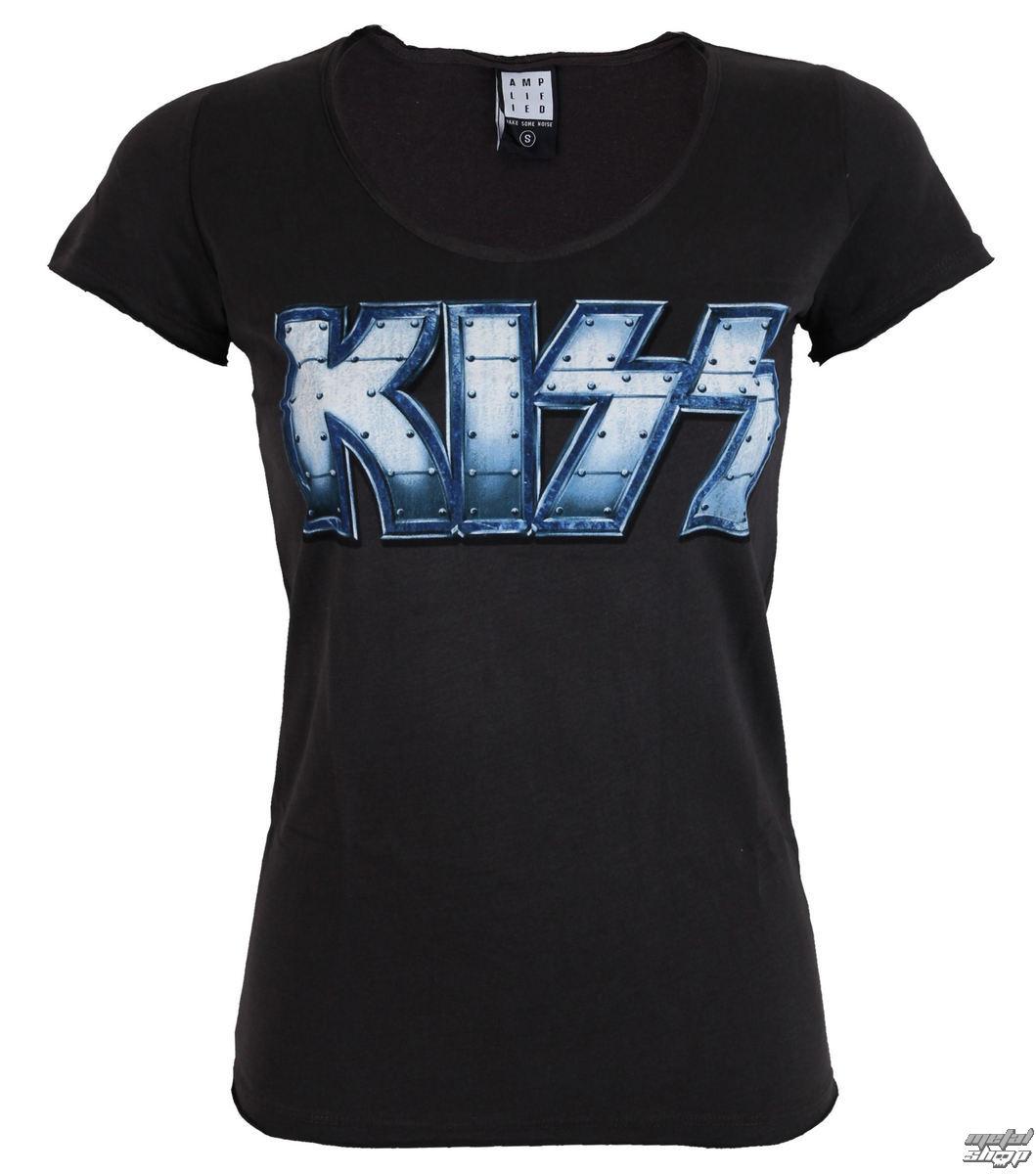 tričko dámské KISS - METAL DISTRESSED - AMPLIFIED - AV601KMD