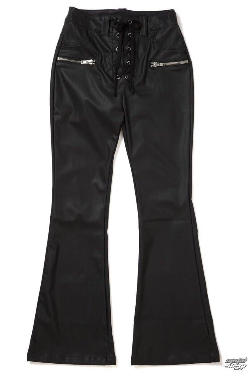 kalhoty dámské KILLSTAR - Hell-O Bootcut - K-BTM-F-2114