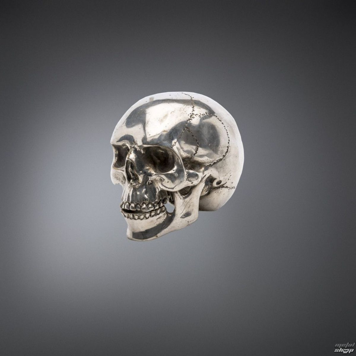 dekorace QUEEN OF DARKNESS - Metal Skull - ATA-13114