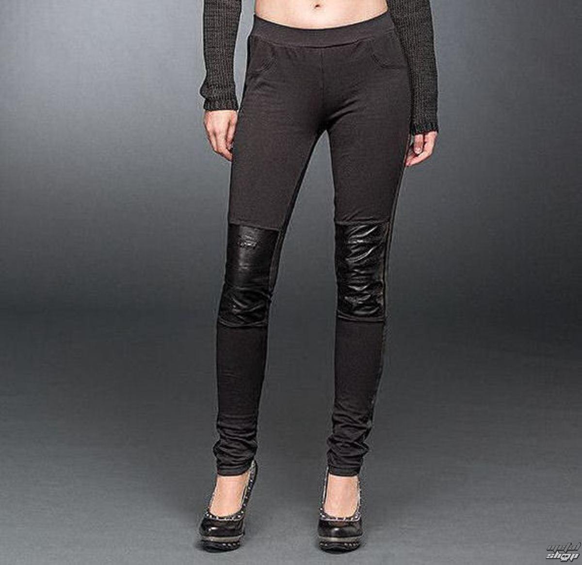 kalhoty dámské (leginy) QUEEN OF DARKNESS - Black - TR1-274/15