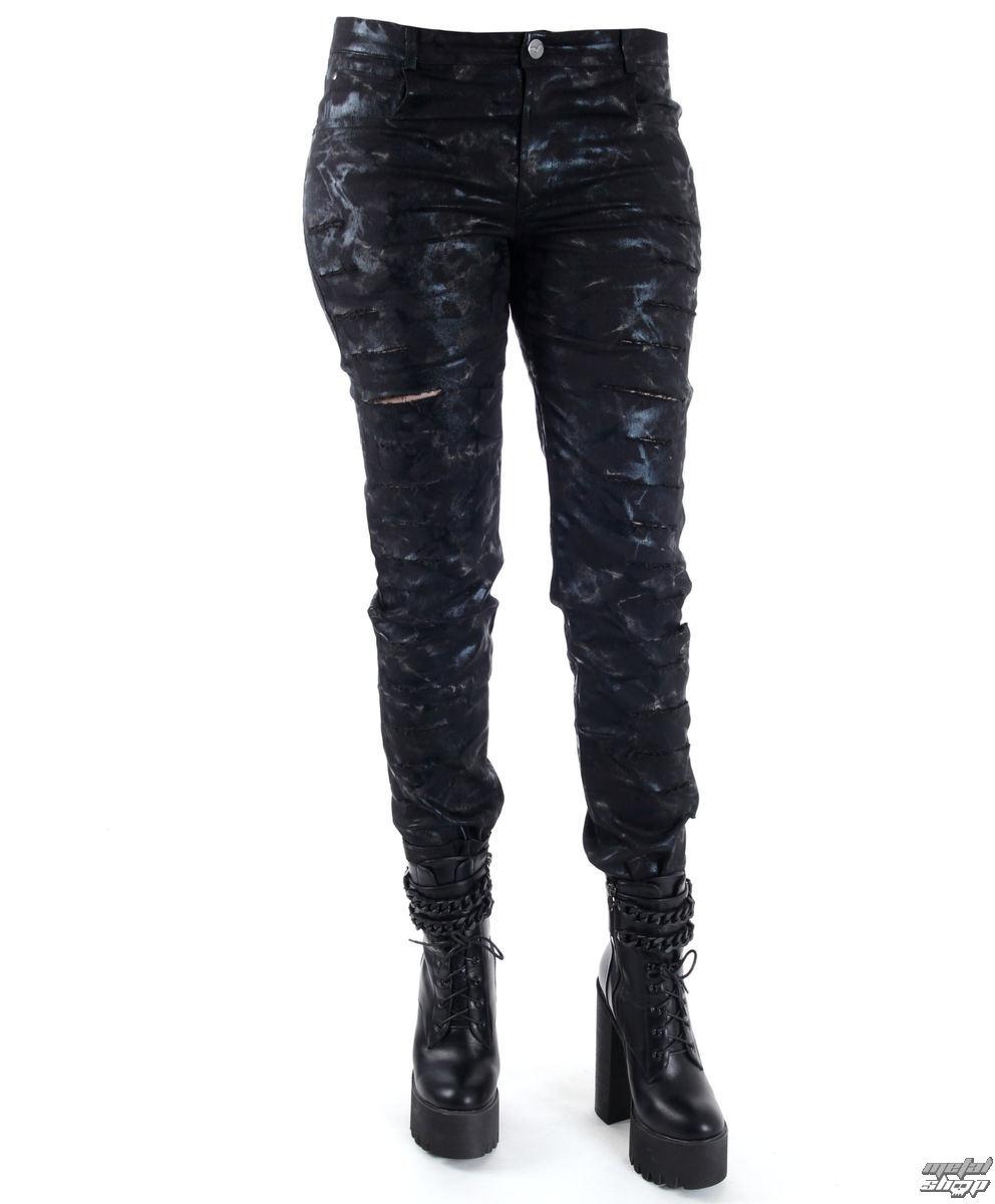 kalhoty dámské QUEEN OF DARKNESS - Cracks - TR1-282/16