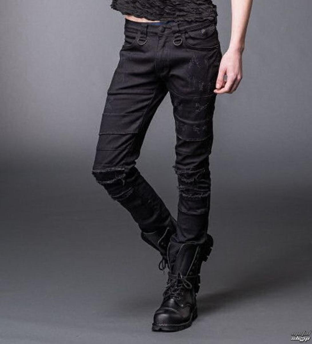 kalhoty pánské QUEEN OF DARKNESS - Black - TR2-183/14