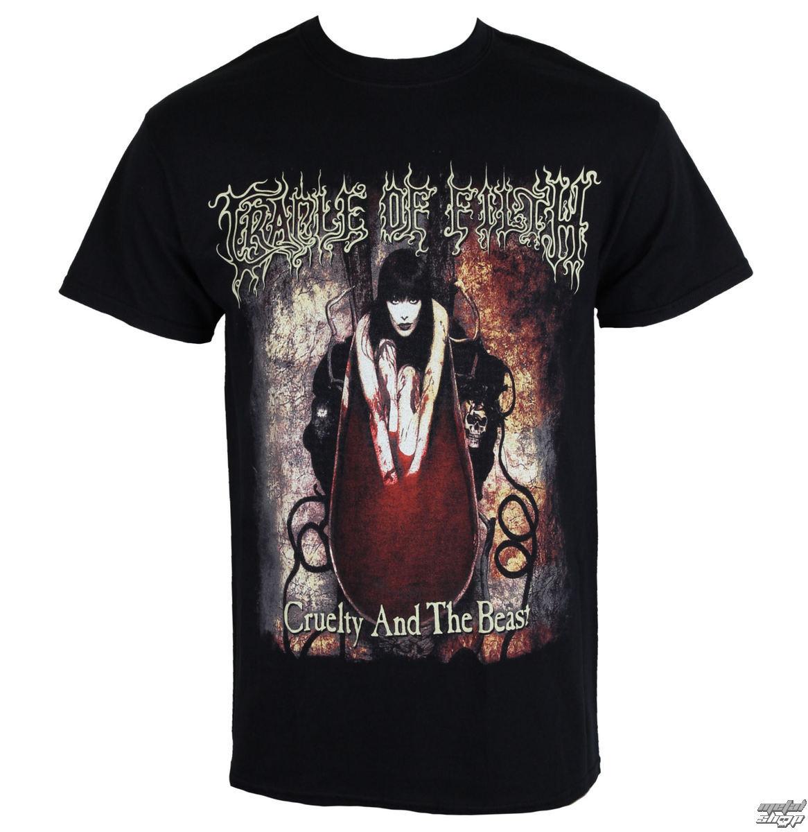 tričko pánské Cradle of Filth - CRUELTY ANO THE BEAST - RAZAMATAZ - ST2088