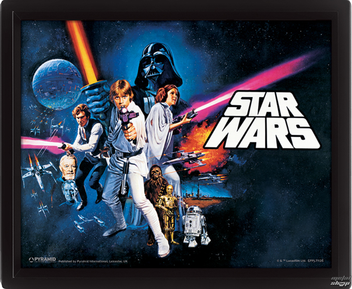 3D obraz Star Wars - A New Hope