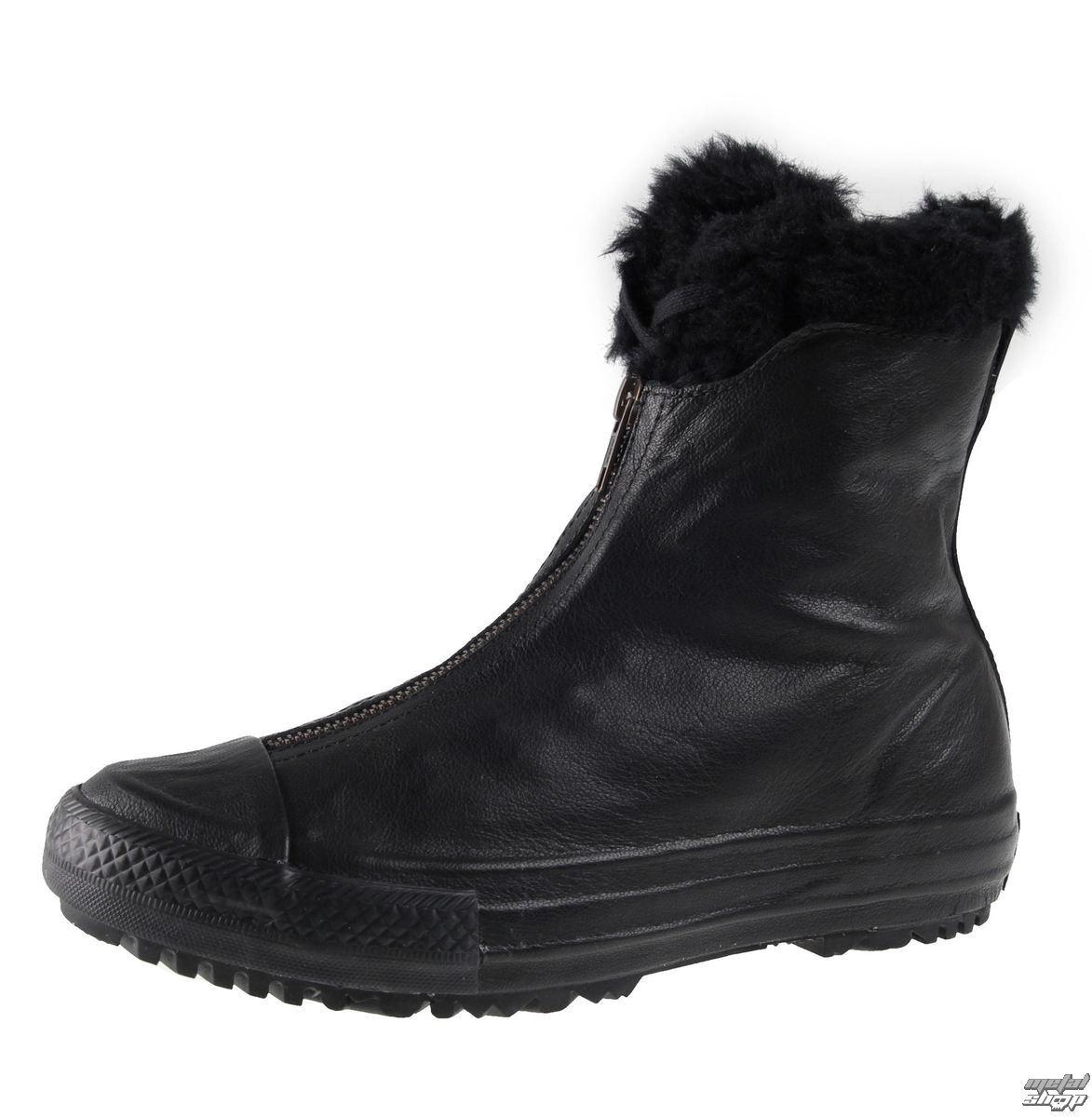 boty dámské zimní CONVERSE - CTAS Hi Rise Boot Shroud - BLK/BLK/BLK - C553350