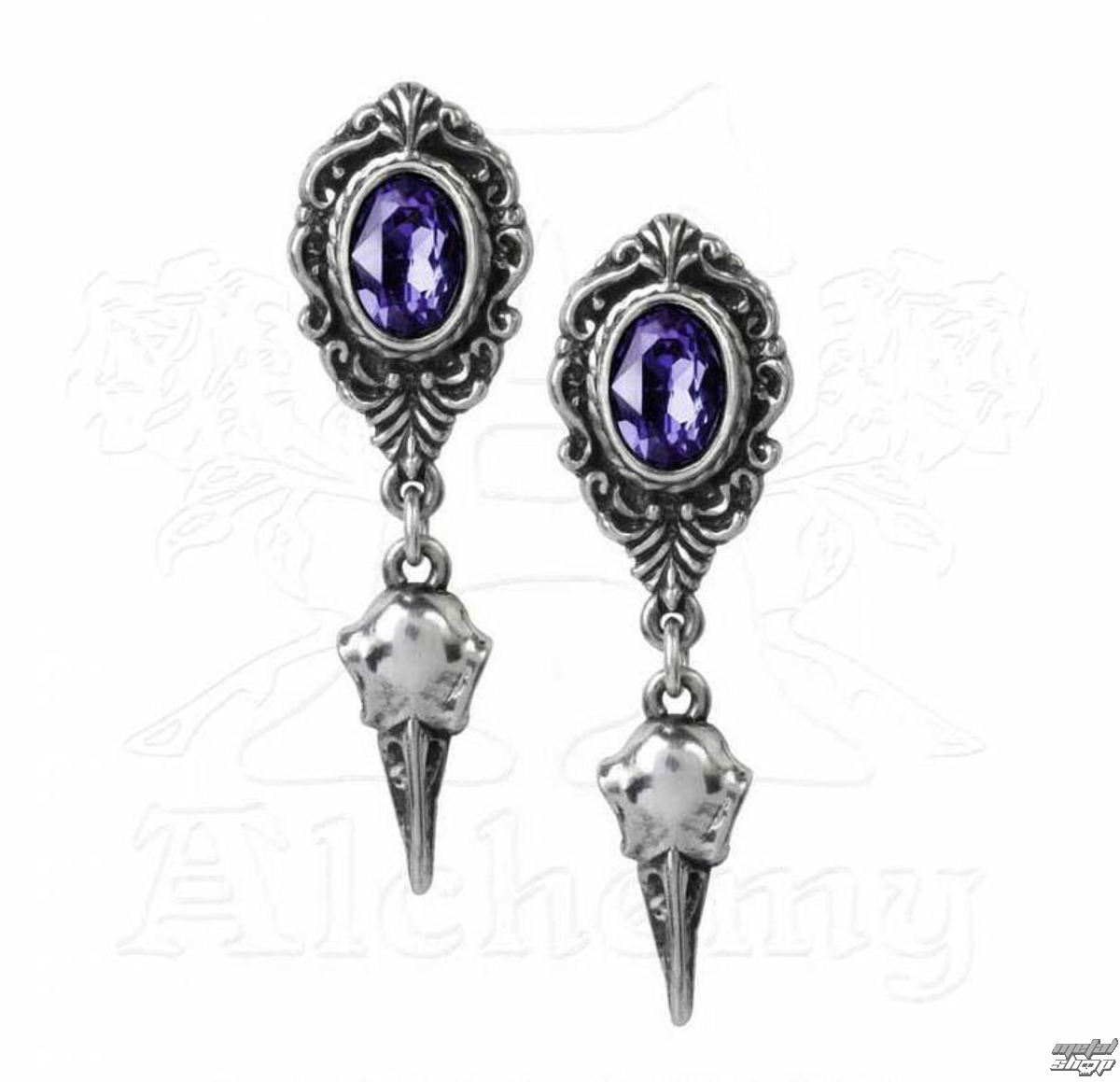 náušnice ALCHEMY GOTHIC - Soul From The Shadows Earstuds - E380