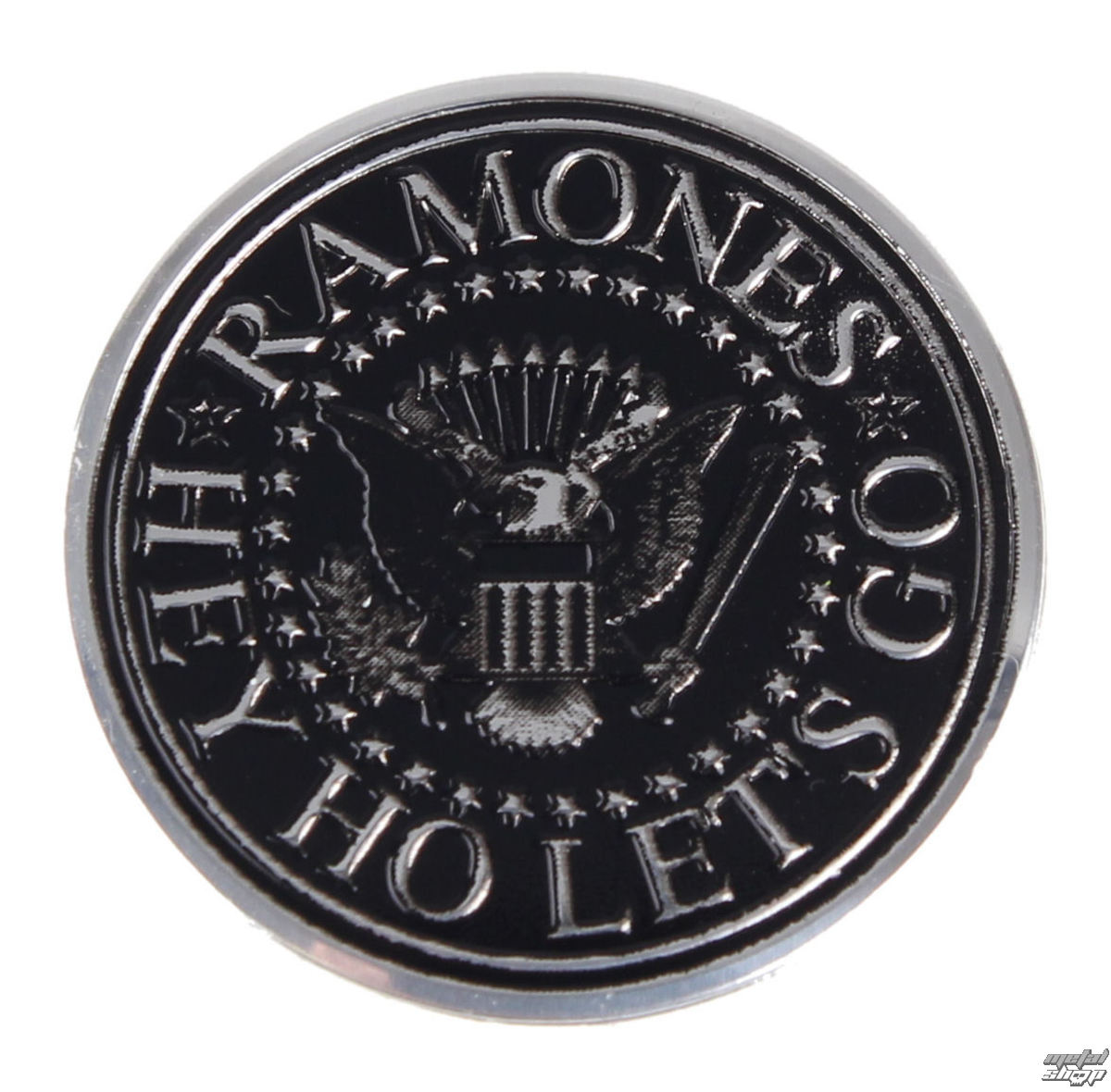 nálepka nejmenší (kovová) Ramones - S-7766-M