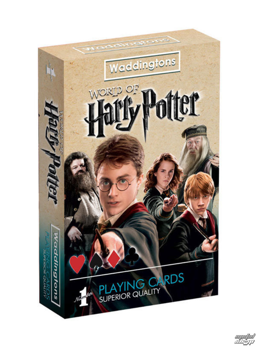 hrací karty Harry Potter - Waddingtons - WADD022149