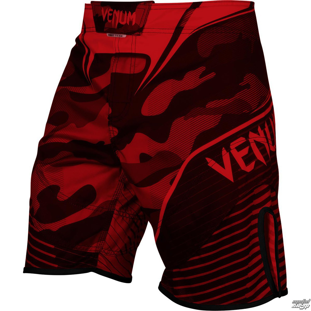 boxerské kraťasy VENUM - Camo Hero - Red/Black