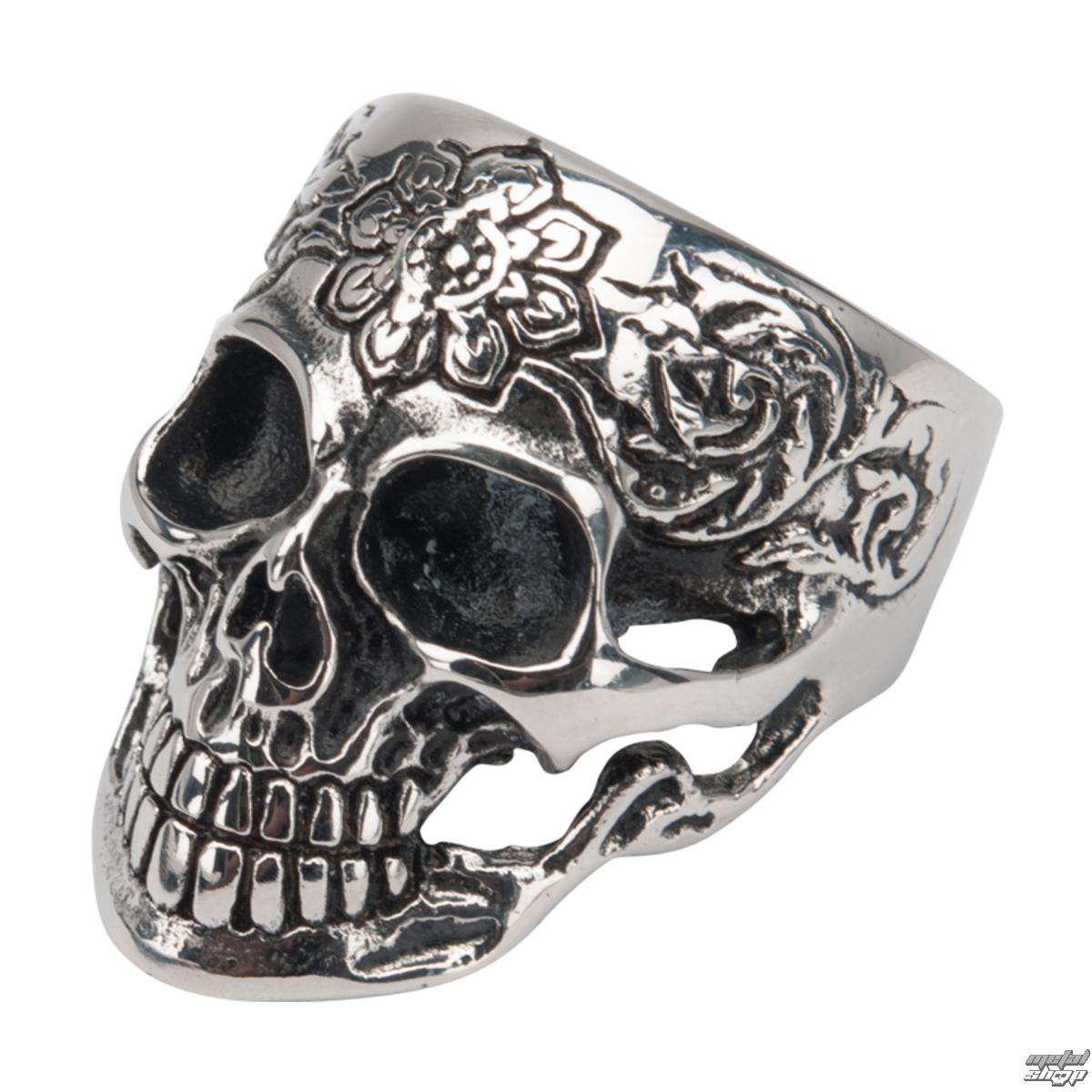 prsten INOX - SKULL - FR838