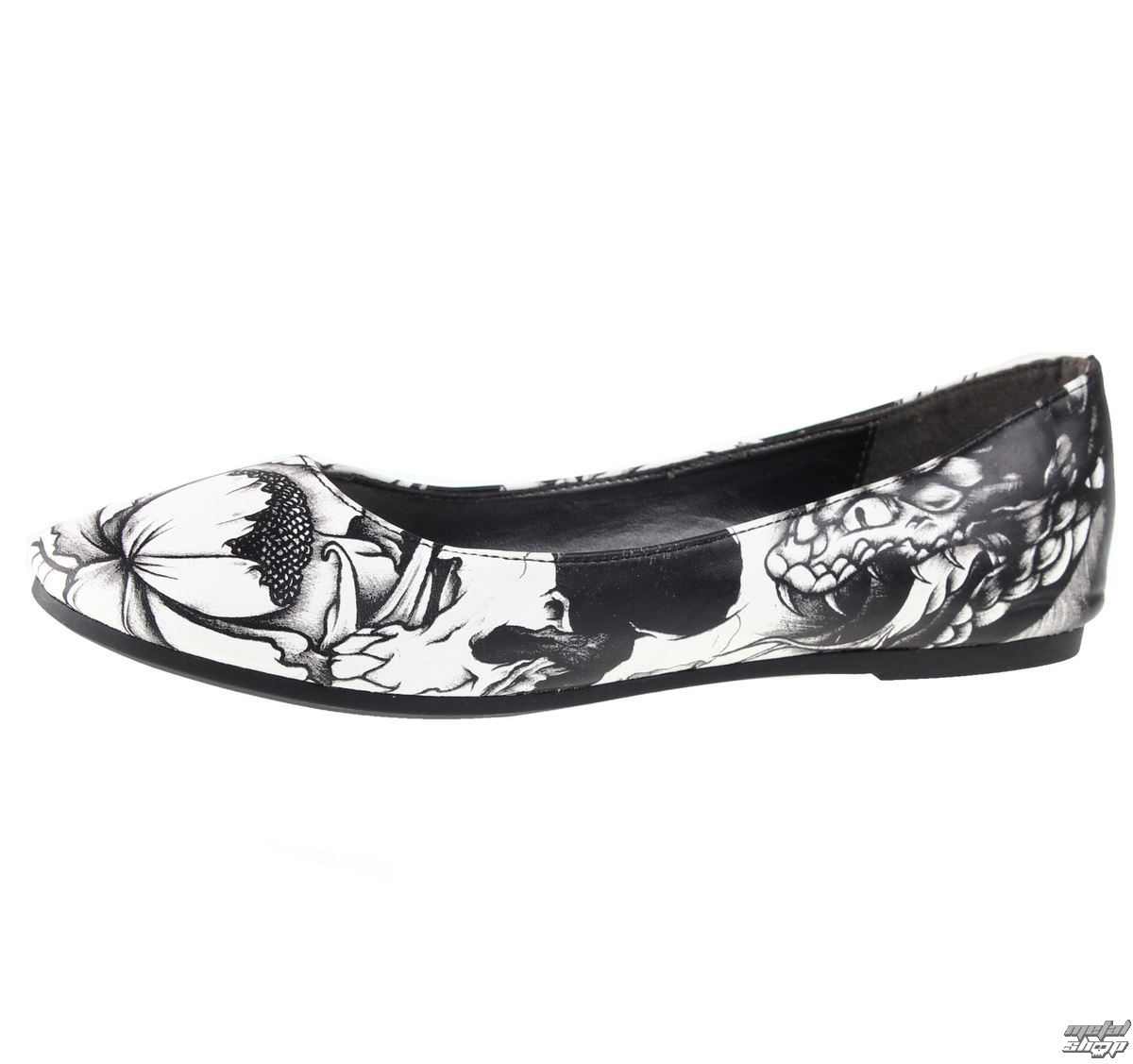 boty dámské (baleriny) IRON FIST - Original Sin - IFW005133-White