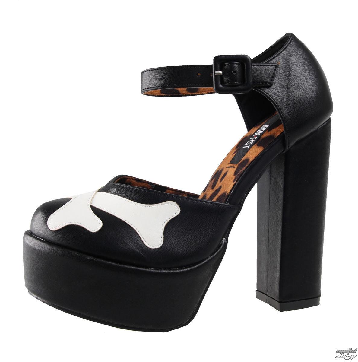 boty dámské (střevíce) IRON FIST - Hey You Guys - IFW005119-Black