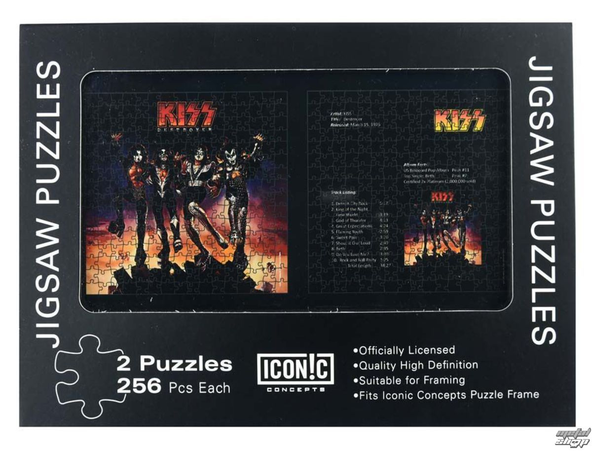 puzzle KISS - Destroyer - ICC-2M-K01 5001