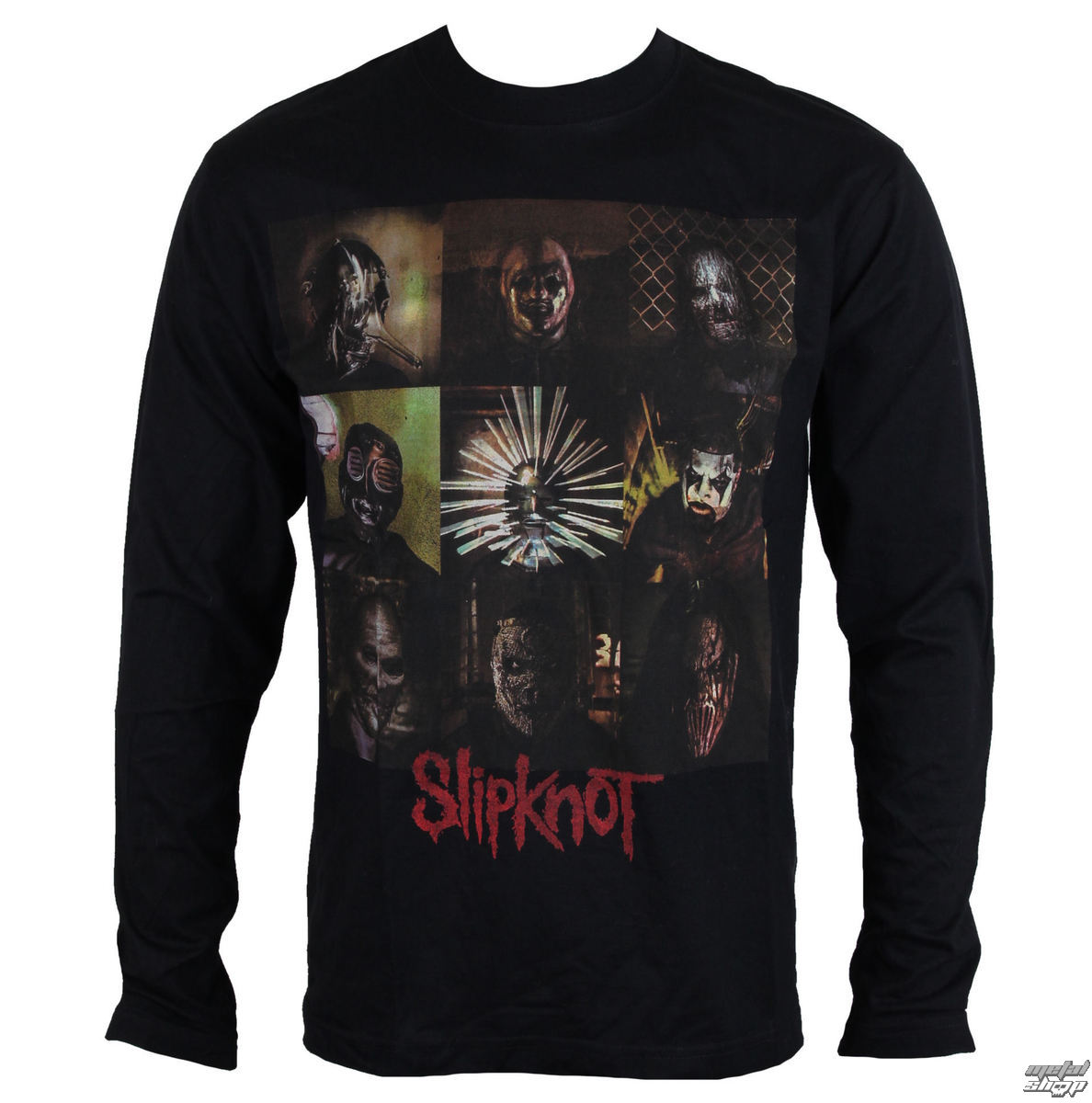 d5625eab90c tričko pánské s dlouhým rukávem Slipknot - Blocks - ROCK OFF ...
