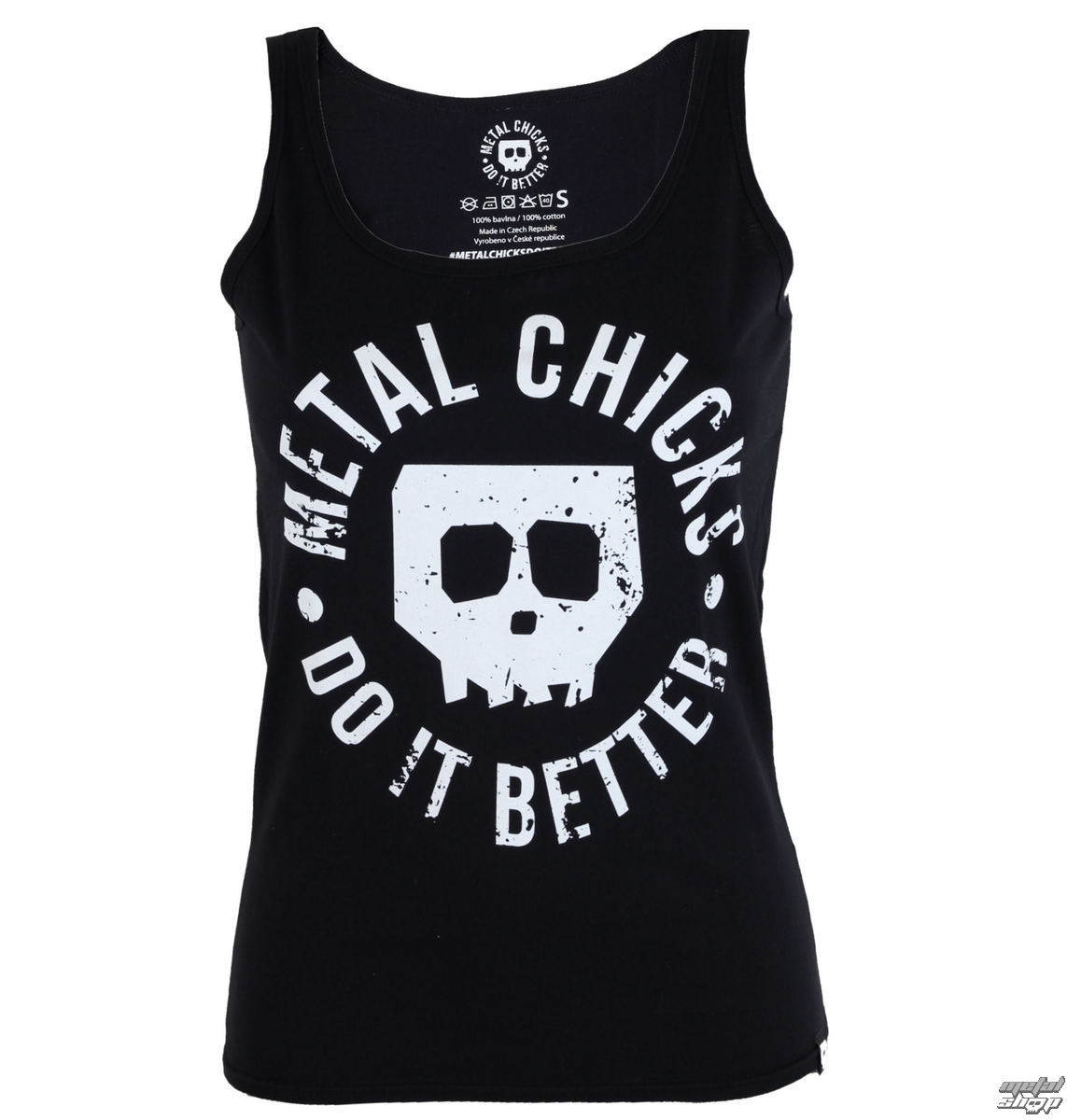 tílko dámské METAL CHICKS DO IT BETTER - Skull - MCDIB007