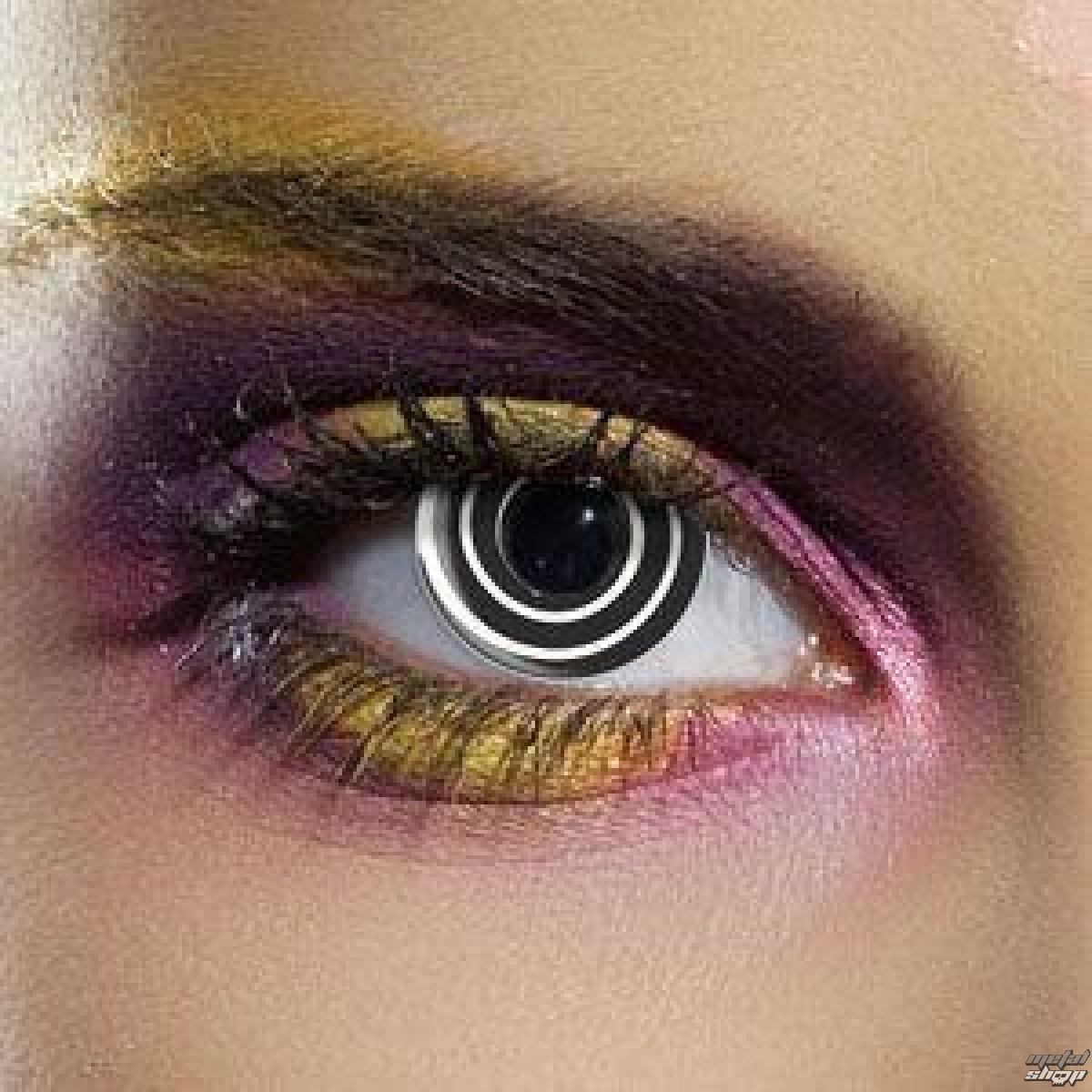 kontaktní čočka BLACK SPIRAL - EDIT - 80181