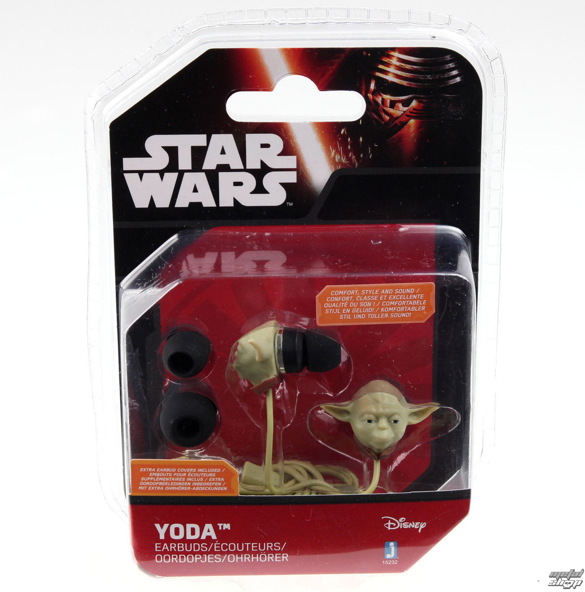 sluchátka Star Wars - Yoda - Green - JAZ15230(1)