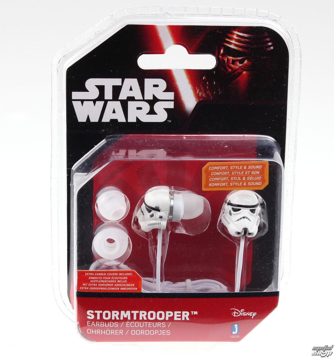 sluchátka Star Wars - Stormtrooper - Wht - JAZ15230(3)