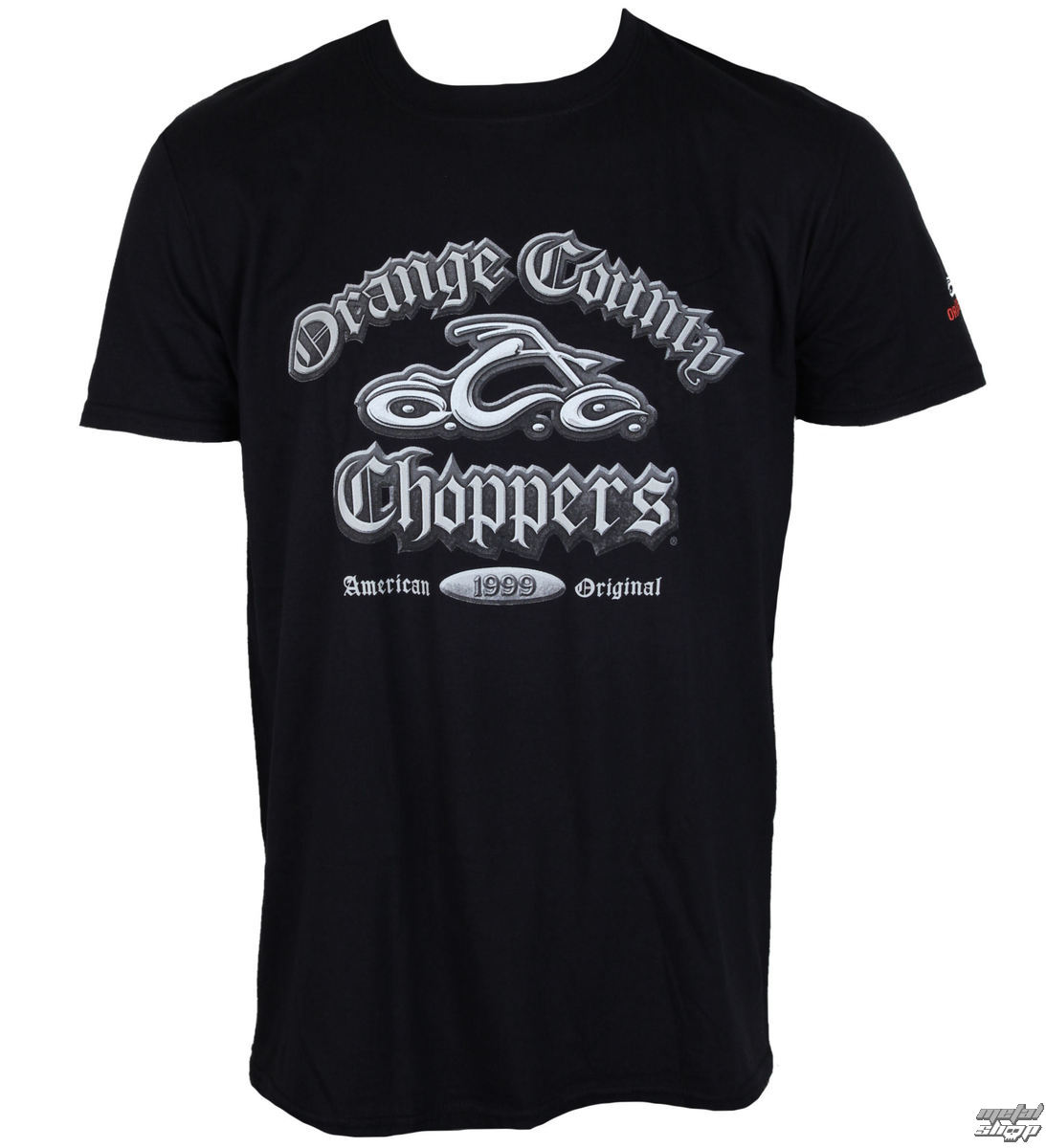 tričko pánské ORANGE COUNTY CHOPPERS - Old English - Black