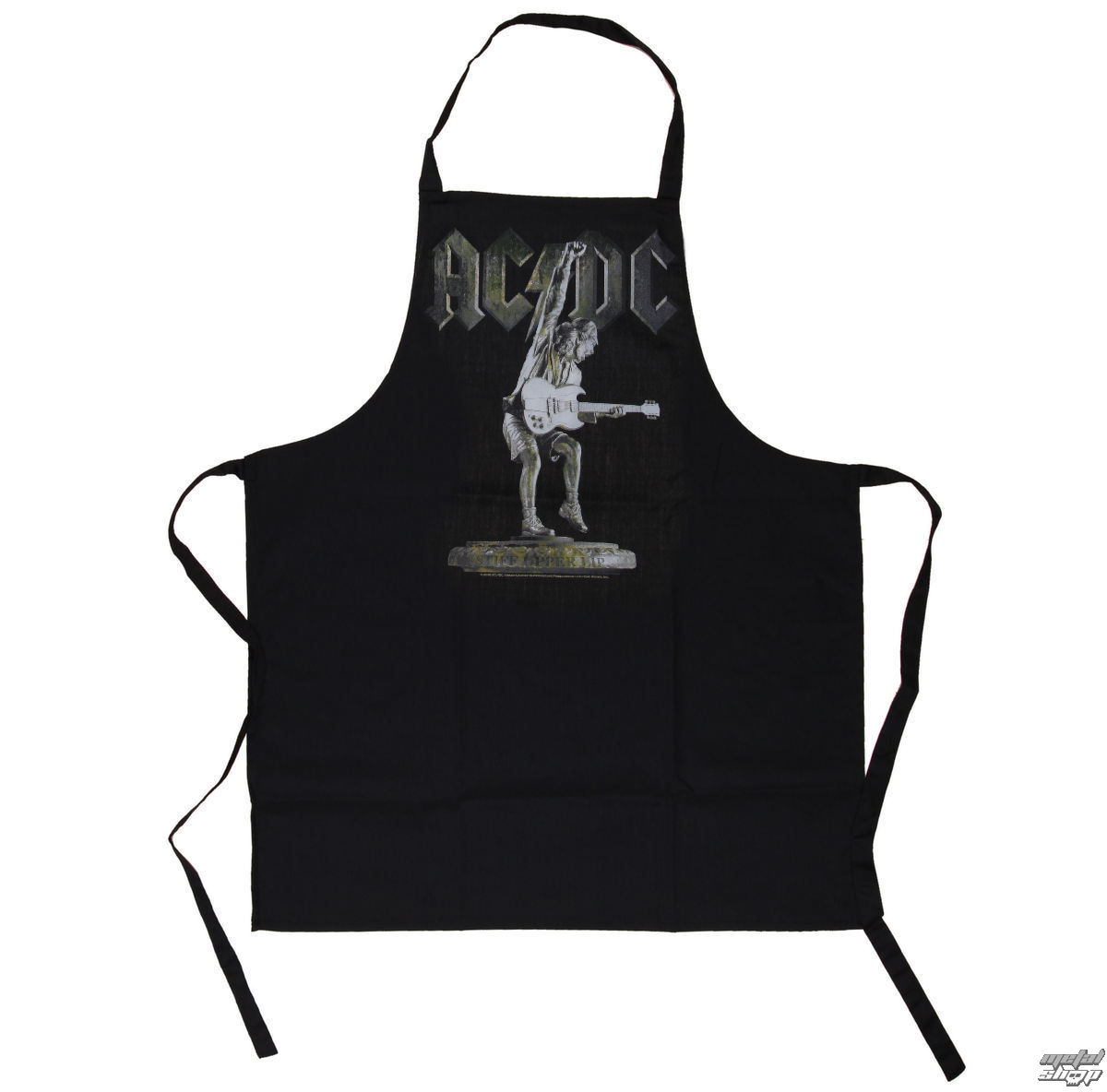 zástěra ACDC - Stiff Upper Lip Apron - LOW FREQUENCY - ACAP050016