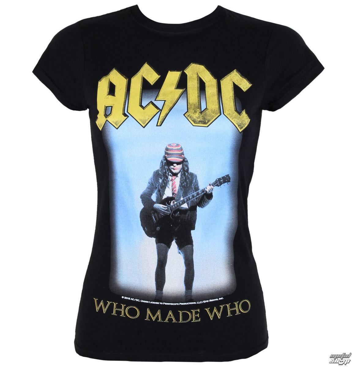 tričko dámské AC/DC - Who Made Who - LOW FREQUENCY - ACGS050015