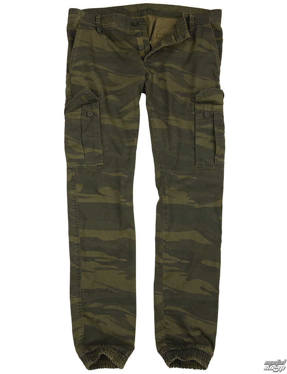 kalhoty pánské SURPLUS - GREEN-CAMO - 05-3801-37