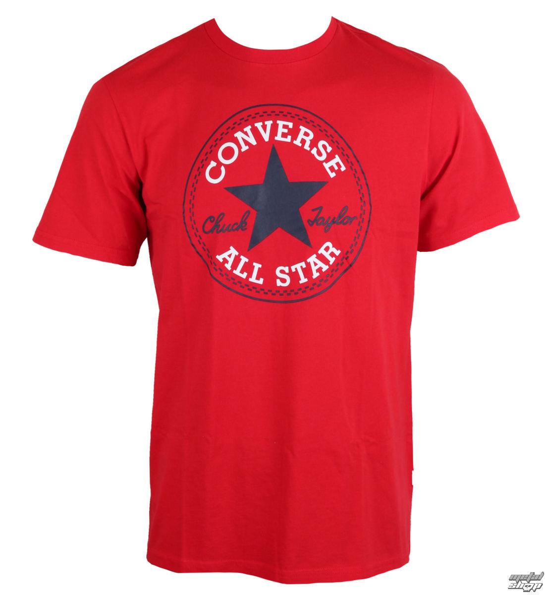 tričko pánské CONVERSE - CORE CHUCK PATCH - 10002848-A06