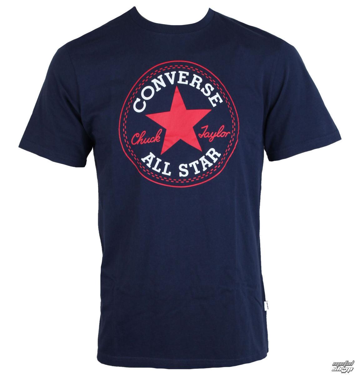 tričko pánské CONVERSE - CORE CHUCK PATCH - 10002848-A04