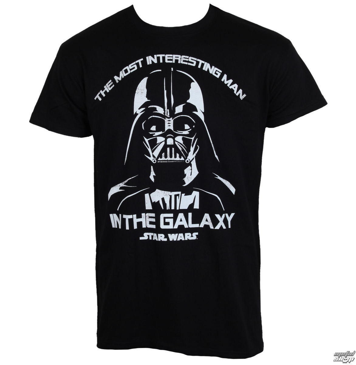 tričko pánské Star Wars - The Most Interesting Man In The Galaxy - Black - HYBRIS - LF-1-SW021-H38-10-BK