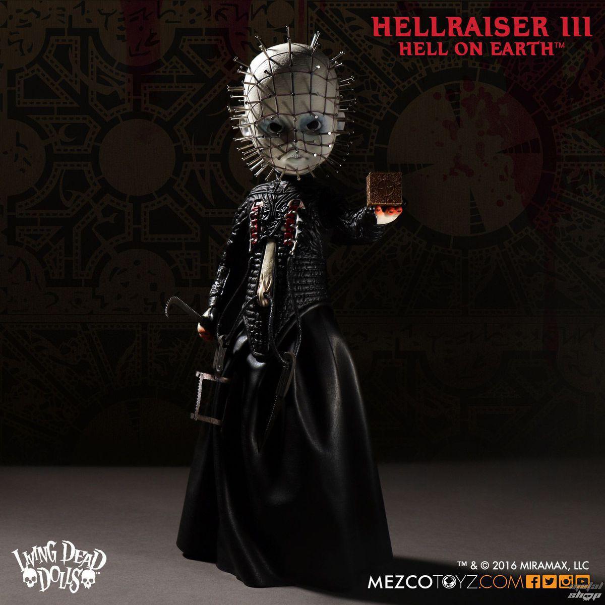 figurka Hellraiser III - Living Dead Dolls Doll - Pinhead - MEZ94650