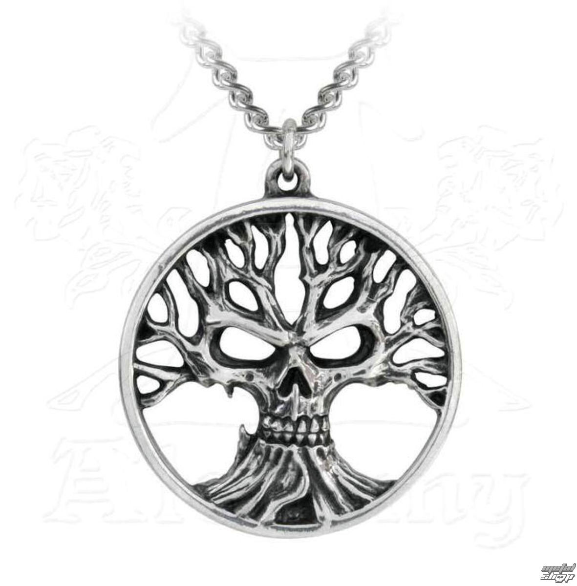 obojek ALCHEMY GOTHIC - Gotik Tree Of Death - P793