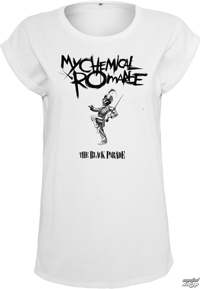 Triďż˝ko metal dďż˝mskďż˝ My Chemical Romance - Black Parade Cover - NNM - MT413