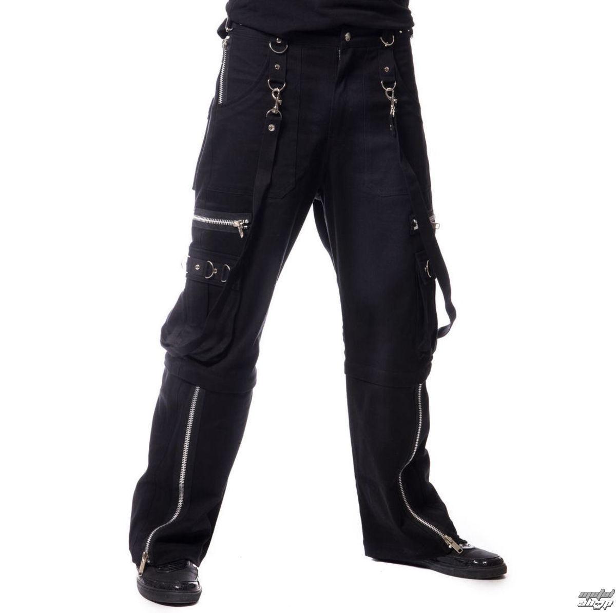 kalhoty pánské Vixxsin - VIPER 2 WAY - BLACK - POI356