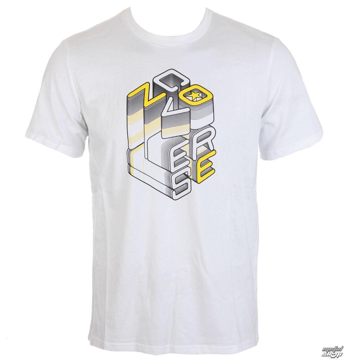 tričko pánské CONVERSE - Converse 3D Wordmark - White - 10003905-A01