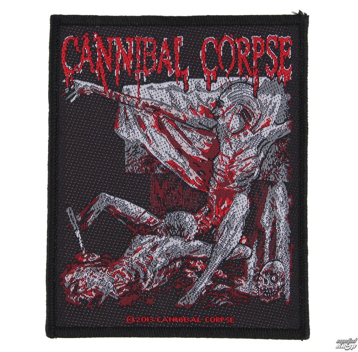 nášivka CANNIBAL CORPSE - TOMB OF THE MUTILATED - RAZAMATAZ - SP2690